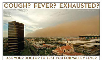 Ask your doctor to test you for Valley Fever