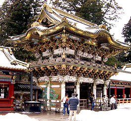 Temple at Nikko, Japan